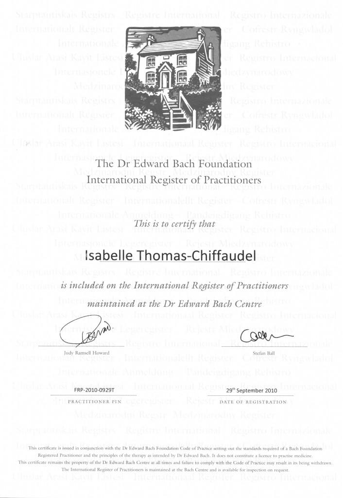diplome-Isa-centre bach